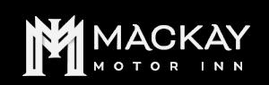 Mackay Motor Inn logo - white